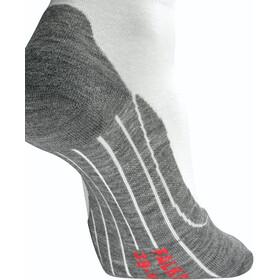 Falke RU4 Calcetines cortos running Mujer, white mix